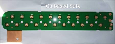 Copper based PCB